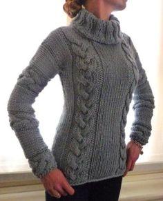 Egle: maglione trecce Giuliano