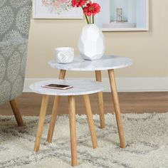 Shop for Simple Living Mid Century Darcy Nesting Tables . Get free shipping at Overstock.com - Your Online Furniture Outlet Store! Get 5% in rewards with Club O! - 20966542