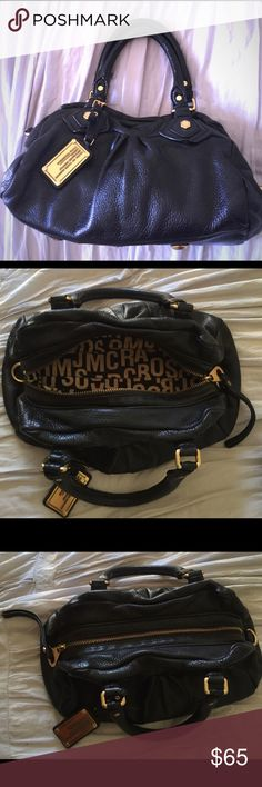 Baby Q satchel purse Gently used, wear around the handle. cute bag but too small for my taste. I like larger bags Marc By Marc Jacobs Bags Satchels