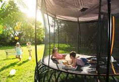 Backyard Trampoline, Tent Camping, Things That Bounce, Rain, Weather, Outdoor Decor, Shop, Kids, Rain Fall