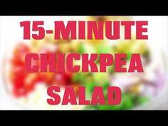 15-Minute Mediterranean Chickpea Salad (Meal-Prep Friendly) - Jessica In The Kitchen