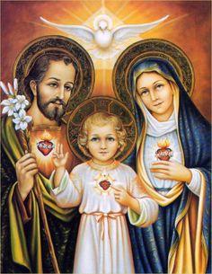 Resultado de imagen para imagenes de la sagrada familia de nazaret