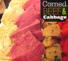 Corned Beef & Cabbage - Slow Cooker & Dutch Oven Instructions  | whatscookingamerica.net  |