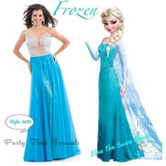 Channel your favorite Snow Queen Elsa from Disney's Frozen with style 6420
