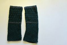 frøkenen & baronen: Gratis opskrift på strikkede håndledsvarmere med perler