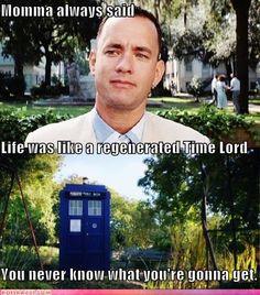 Too bad it's not always David Tennant...