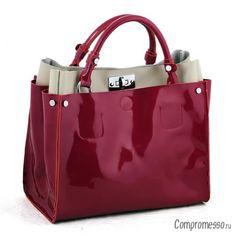 Какие бывают лаковые женские сумки и с чем их носить?