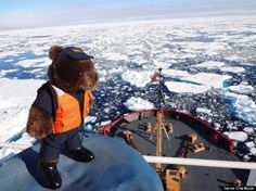 Coast Guard dad took his daughter's teddy bear to the ends of the earth