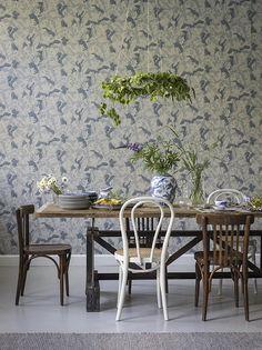 Eco Wallpaper Simplicity Cranes