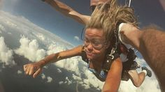 """""""Oh my god Oh bloody hell"""" was the words the whole way down ! Sky dive 14000ft over the Great Barrier Reef onto mission beach has to be the most horrific / amazing experience of my life  #skydive #missionbeach #superman #greatbarrierreef #freefall #14000ft by louhartley93 http://ift.tt/1UokkV2"""