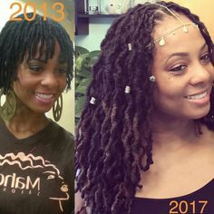 "2,640 Likes, 28 Comments - Loc Livin ™ (@loclivin) on Instagram: "" @nicole_multicultural_stylist ""Today is my loc anniversary!!!! All 145 of my locs babies are 4…"""