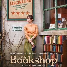 England In a small East Anglian town, Florence Green decides, against polite but ruthless local opposition, to open a bookshop. Movie To Watch List, Good Movies To Watch, Great Movies, Good Comedy Movies, Horror Movies, Film Movie, Cinema Film, Site Pour Film, Period Drama Movies