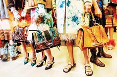 """annadellorusso: with. - annadellorusso: """" with ・・・ Backstage at Prada Fall/Winter 2017 """" Winter 2017, Fall Winter, Anna Dello Russo, Tommy Ton, Aw17, Day Up, Tumblr Posts, Prada, Instagram Posts"""