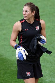 Hope Solo is a soccer player for Team USA #London #Olympics