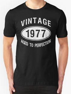 Vintage 1977 Birthday by thepixelgarden