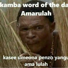 Kamba word of the day AMARULA @comedycentralke