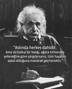 ☄☄☄§ Everybody is a genius. But if you judge a fish by its ability to climb a tree, it will live its whole life believing that it is stupid. Like Quotes, Change Quotes, Meaningful Quotes, Inspirational Quotes, Motivational, Motivation Sentences, Before I Sleep, Good Sentences, Study Hard