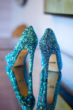 something sparkley and blue