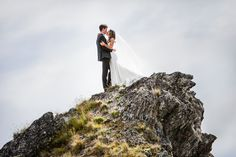 Gorgeous bespoke wedding in Wanaka, New Zealand — Fluidphoto Ruth Brown Elope Wedding, Post Wedding, Edgewater Resort, Wedding New Zealand, Mountain Weddings, Creative Wedding Ideas, Elopements, Photo Location, Outdoor Ceremony