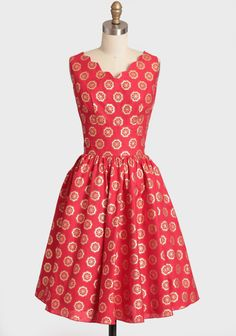 Pretty vintage inspired dress