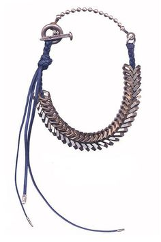 11 New-Wave Necklaces That Are Delicate But Daring #refinery29  http://www.refinery29.com/statement-necklaces#slide11