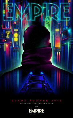 Blade Runner: 2049 Takes Over The Cover Of The Latest Empire Magazine Rick Deckard, Blade Runner Art, Blade Runner 2049, Empire, Denis Villeneuve, Keys Art, Affinity Designer, Cyberpunk Art, Ryan Gosling