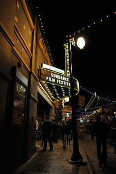 Home of the Sundance Film Festival. Schedule announced!