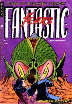 Cover for Fantastic Fears (Farrell, 1953 series) #7
