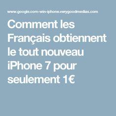 Comment les Français obtiennent le tout nouveau iPhone 7 pour seulement 1€