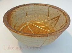 Kintsugi, as the practice is known, gives new life to damaged or aging ceramic objects by celebrating their frailty and history. One can consider how we might live a kintsugi life, finding value in the cracks, missing pieces and chips - whether it's the scars showing how we have lived, finding new purpose through aging and loss, see the beauty of 'imperfection' and love ourselves, family and friends despite flaws.