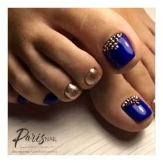 48 amazing toe nail colors to choose in 2019 58 - Daily Fashion Cute Nail Art Designs, Colorful Nail Designs, Toe Nail Designs, Toe Nail Color, Toe Nail Art, Nail Colors, Pretty Toe Nails, Pedicure Nail Art, Feet Nails