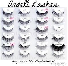 False lashes!