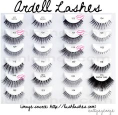 Makeup Tips, Beauty Reviews, Tutorials | Miss Natty's Beauty Diary Blog: False Eyelashes 101. (Where to purchase, Styles & brands I like, etc.)