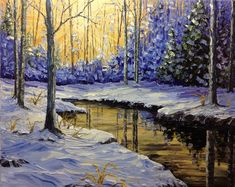 First Snowfall ($1,210) by Brenda Banda Johnson is available in Calgary, AB. Brenda Banda Johnson is a exciting local artist with fresh new paintings like First Snowfall