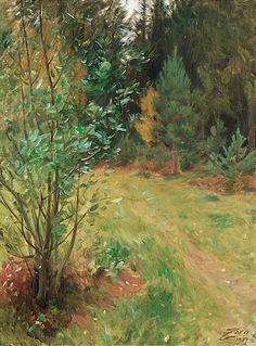 """ANDERS ZORN 1860-1920, """"Landskap från Gopsmor"""""""