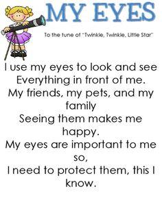 5 Senses- Sight by kindercain - Modernes Five Senses Preschool, 5 Senses Activities, My Five Senses, Preschool Songs, Kindergarten Science, Science Activities, Body Preschool, Science Fun, Preschool Classroom