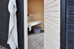 add a room: one+ sauna house Sauna House, Sauna Room, Jacuzzi, Tiered Seating, Add A Room, Outdoor Sauna, Sauna Design, Finnish Sauna, Spa Rooms