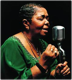 Cesaria Evora----will definitely include some of her tunes in the cocktail hour music mix