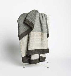 Plaid laine de lama ultra doux Illimani gris beige - 130x160cm