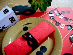 Vous organisez un anniversaire Zorro ? Découvrez le pack sur le blog de Faites un carton.