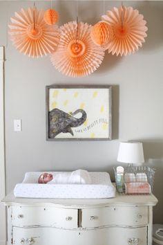 Plum Lovely Blog Baby Girl Nursery - Molly Winn Photography