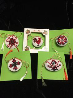 Baba Marta, 8 Martie, Folk Embroidery, Handmade, Accessories, Mandalas, Needlepoint, Hand Made, Handarbeit