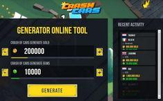 Crash of Cars Hack Online Generator - Get Unlimited Gold and Gems