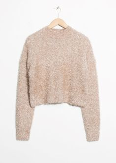 & Other Stories | Fuzzy Sweater -  Fuzzy shopping is alive and well on Pinterest. Compare prices for this @ Wrhel.com before you commit to buy. #Wrhel #Fashion #Fuzzy