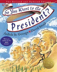 So You Want To Be President?, 2001 Caldecott Medal Caldecott Medal Winner winner, David Small #childrensbooks #GoodReads #Books
