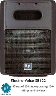 Electro-Voice SB122 Passive Subwoofer. This 400 Watt subwoofer is extremely popular with people who only need a small passive sub. It's currently the highest rated Passive PA Subwoofer see details at https://www.gearank.com/guides/pa-subwoofers#passive