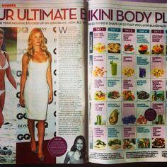 Huge spread about Tegan's clean & lean bikini summer plan in #okmagazine Amazing!!! http://instagram.com/p/qwgSLhiWeG/?modal=true