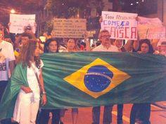 Pessoas de todas as idades se juntam na maior mobilização popular no Rio de Janeiro. 17/06/2013.