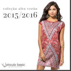 As estampas étnicas chegaram para ficar! Elas continuam quentes neste ano, compondo looks com uma pegada original e cheia de personalidade.   http://www.vinculobasic.com.br/ #vinculobasic #verao2016