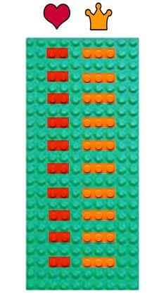 Tafel van twee en drie met LEGO